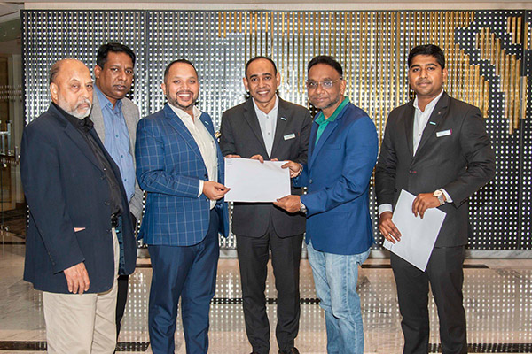 Arona International Signs agreement with Le Meridien Dhaka