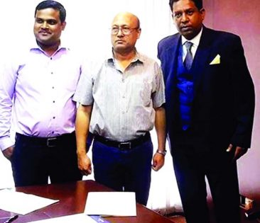ENA Chief signs agreement with Bangla TV